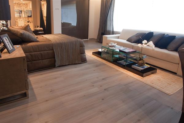 piso flutuante laminado