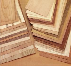 placas folheadas madeira